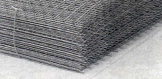 Reinforced mesh and wire