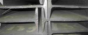 Double parallel flange beams